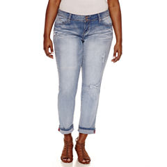 Ymi Skinny Jeans-Juniors Plus