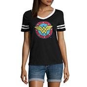 Wonder Woman Graphic T-Shirt- Juniors
