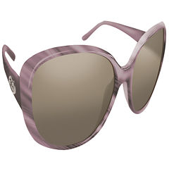 Flying Fisherman Sanibel Mauve w/Smoke Sunglasses