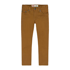 Levi's® Sueded Pants - Toddler Boys 2t-5t