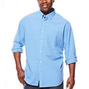 The Foundry Big & Tall Supply Co.™ Long-Sleeve Poplin Woven Shirt