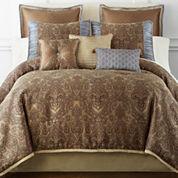 Home Expressions™ Savoy 7-pc. Jacquard Comforter Set