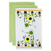 JCPenney Home™ Gardening 3-pc. Kitchen Towels