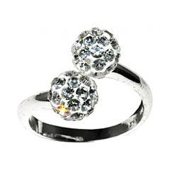 Sparkle Allure White Delicate Ring