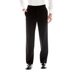 JF J. Ferrar® Flat-Front Tuxedo Pants - Slim