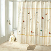 Avanti Gilded Birds Shower Curtain