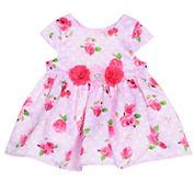 Marmellata Sleeveless Empire Waist Dress - Baby