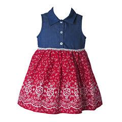 Lilt Sleeveless Babydoll Dress - Baby Girls