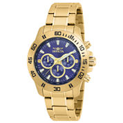 Invicta Specialty Mens Gold Tone Bracelet Watch-21483