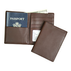 Royce® Passport Currency Leather Wallet