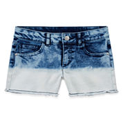 Total Girl Denim Shorts - Big Kid Girls