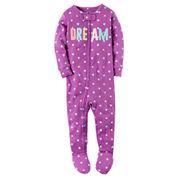 Carter's Girls One Piece Pajama-Baby
