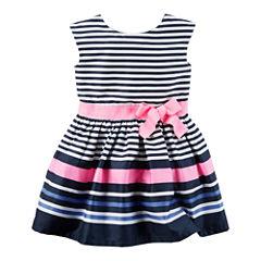 Carter's Short Sleeve Babydoll Dress - Preschool Girls