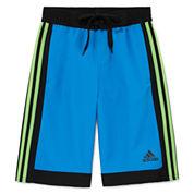 Adidas Boys Iconic Valley Swim Trunks-Big Kid