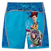 Disney Boys Solid Trunks-Big Kid