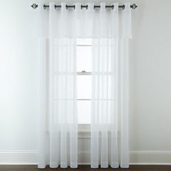 JCPenney Home™ Bayview Grommet-Top Sheer Panel