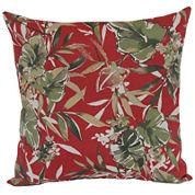 Outdoor Oasis™ Tropical Floral Outdoor Pillow