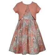 Bonnie Jean Sleeveless Dress Set Plus - Big Kid