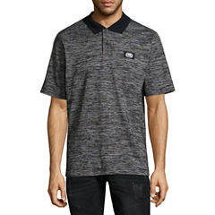 Ecko Unltd Short Sleeve Solid Jersey Polo Shirt