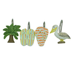 Bacova Guild Shorething Shower Curtain Hooks