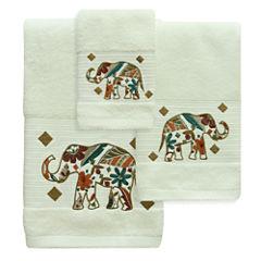 Bacova Guild Boho Elephant Bath Towel Collection