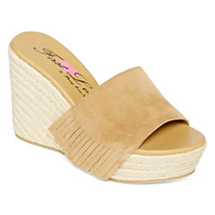 First Love Nest Fringe Rope Wedges