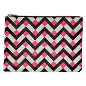 Worthington® Pink Chevron Pouch Wallet