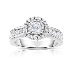 True Love, Celebrate Romance® 1½ CT. T.W. Diamond 14K White Gold Engagement Ring