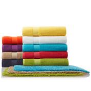 JCPenney Home™ Bath Towel & Bath Rug Collection