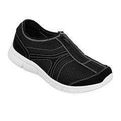St. John's Bay® Jacey Slip-On Shoes - Wide Width