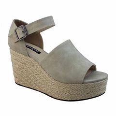 Michael Antonio Greight Womens Wedge Sandals