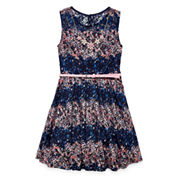 Knit Works Sleeveless Dress Set - Big Kid