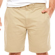 The Foundry Big & Tall Supply Co. Twill Chino Shorts-Big and Tall