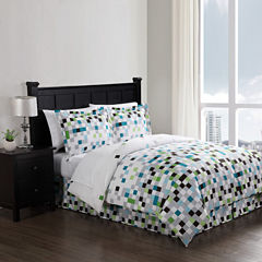 Style 212 Pixel Complete Bedding Set with Sheets