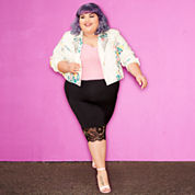 Ashley Nell Tipton for Boutique + Pencil Skirt Plus