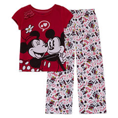 Disney 2-pc. Minnie Mouse Short Sleeve