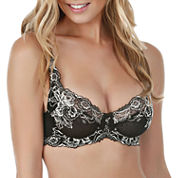 Paramour Madison Floral Lace Full-Coverage Full Figure Bra