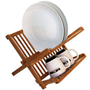 Totally Bamboo® Compact Dish Rack