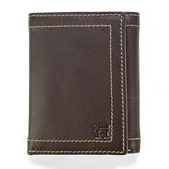 Haggar® Buckskin Trifold Leather Wallet
