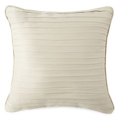 Royal Velvet® Palais Square Pleated Decorative Pillow