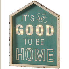 It's So Good To Be Home Marquee Wall Art