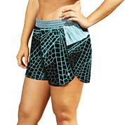 Champion® Print Sport Shorts - Plus