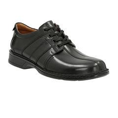 Clarks® Touareg Vibe Mens Leather Oxford Shoes