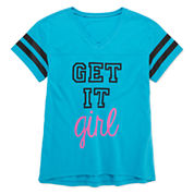 Xersion™ Short-Sleeve Football Graphic Tee - Girls 7-16 and Plus