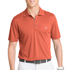 IZOD Short-Sleeve Golf Grid Polo Shirt
