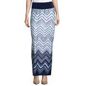 Alyx® Mid-Rise Print Woven Maxi Skirt