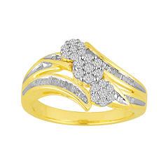 ½ CT. T.W. Diamond Bypass Ring