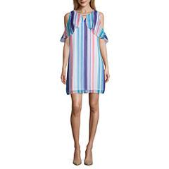 Worthington Cold Shoulder Shift Dress