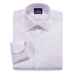 Stafford Executive Non-Iron Cotton Pinpoint Oxford Long Sleeve Dress Shirt