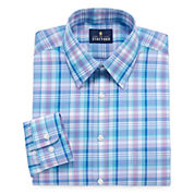 Stafford Travel Performance Super Shirt - Big & Tall  Long Sleeve Dress Shirt